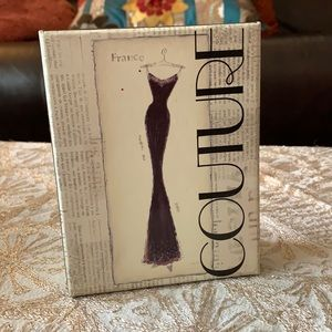 3 for $20 - Couture themed note card (1034-2)